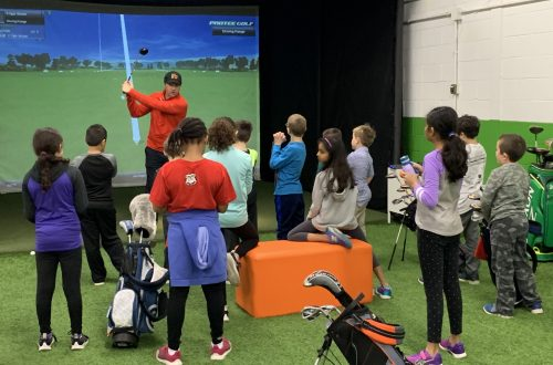 Winter Golf Class for Kids