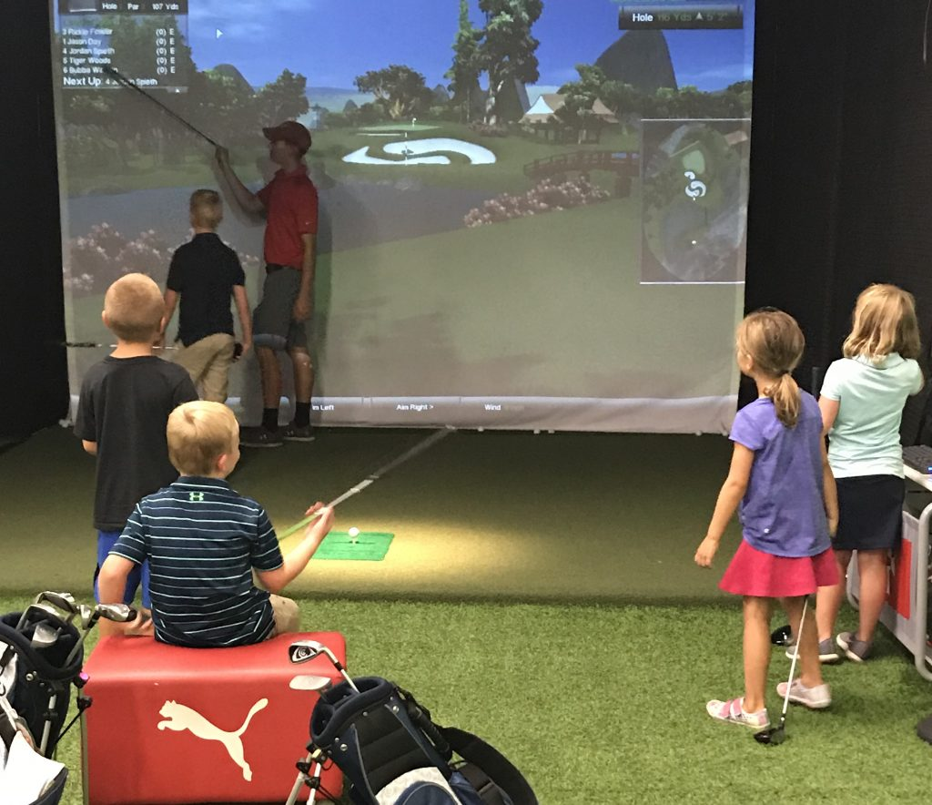 Fall Golf Class for Kids